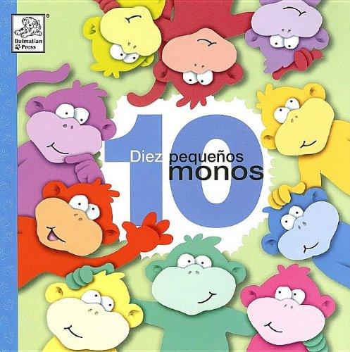 9781403724557: Diez Pequenos Monos