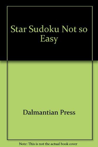 9781403729118: Star Sudoku Not so Easy ( Level 3)