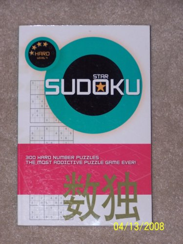 9781403729125: Star Sudoku Level 4, Hard, Puzzle Book by Dalmation Press (2006-05-03)