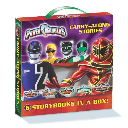 9781403729590: Power Ranger Carry Along: 6 Storybooks in a Box!