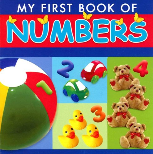 9781403730589: My First Book of Numbers