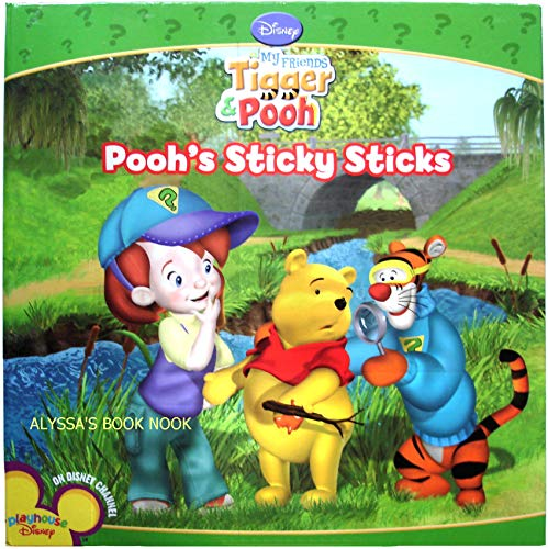 9781403732484: My Friends, Tigger & Pooh/Pooh's Sticky Sticks (My Friends, Tigger and Pooh)
