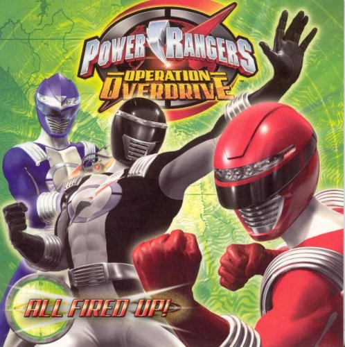 9781403737045: Power Rangers Operation Overdrive All Fired Up!
