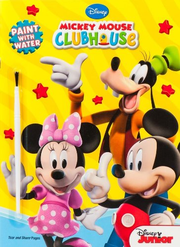 9781403738127: Disney Mickey Mouse Clubhouse Paint with Water