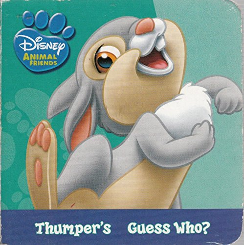 9781403740311: Thumper's Guess Who? (Disney Animal Friends)