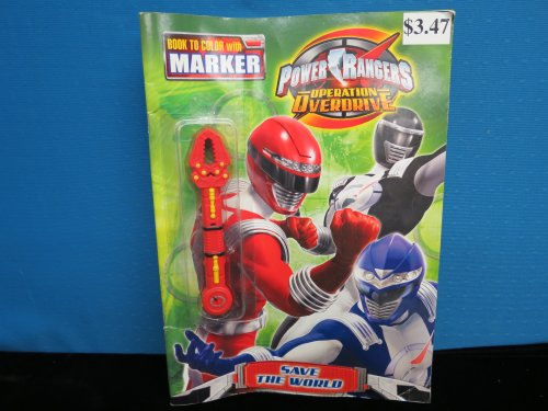9781403742032: Power Rangers Operation Overdrive (coloring book) (Power Rangers)