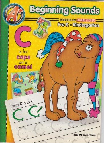 9781403748478: Beginning Sounds Workbook Pre K - Kindergarten