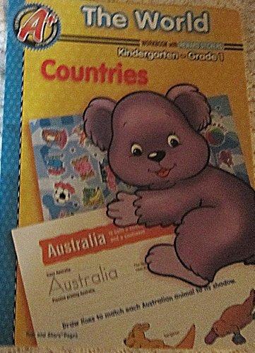 9781403748539: The World Workbook with Reward Stickers Countries Kindergarten Grade 1