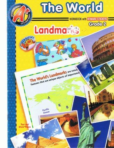 The World Workbook with Reward Stickers Landmarks: LETS GROW SMART