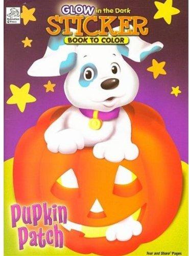 9781403751096: Pumpkin Patch: Glow in the Dark Sticker Book to Color