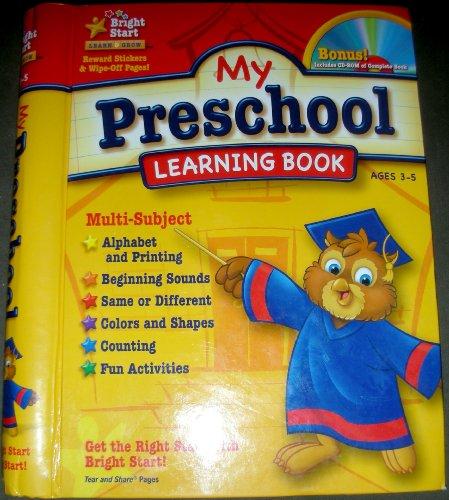 9781403751959: My Preschool Learning Book