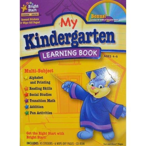 9781403751966: My Kindergarten Learning Book