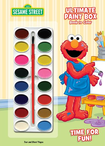 9781403764058: Sesame Street Ultimate Paint Box: Time for Fun! [With Paint Brush and Paint] (Sesame Street (Dalmatian Press))