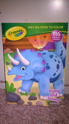 9781403765260: Crayola Way Big Book to Color Romp and Stomp