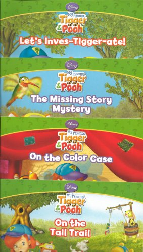 9781403774583: Disney's My Friends Tigger & Book Book Set of 4 (Let's Inves-Tigger-ate!, The Missing Story Mystery, On the Color Case, On the Tail Trail)
