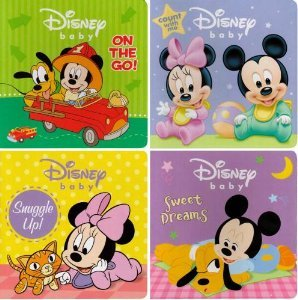 9781403781024: DISNEY BABY BOOKS (Disney Baby, 1-4)