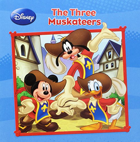 The Three Muskateers: Walt Disney