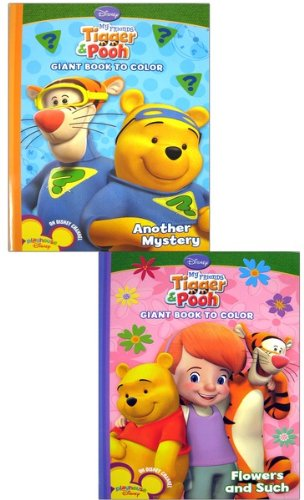 DISNEY MY FRIENDS TIGGER AND POOH COLORING BOOKS (9781403781093) by Disney