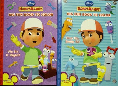 Handy Manny Big Fun Coloring Book (Handy Manny Big Fun Book to Color): Disney