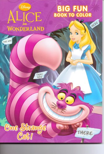 9781403793669: Disney Alice In Wonderland It's A Curious World Coloring Book