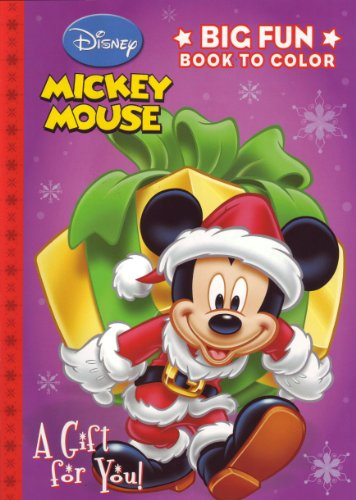 9781403794024: Mickey Mouse Christmas Coloring Book - A Gift for You!