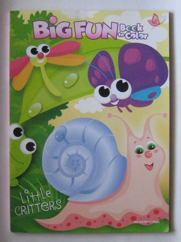 9781403794208: Little Critters Big Fun Book to Color