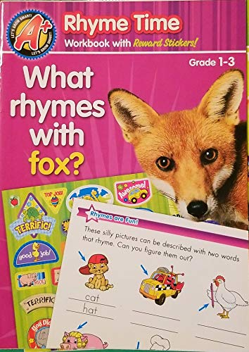 9781403794369: Rhyme Time Workbook with Reward Stickers!: What Rhymes With Fox? (Grade 1-3)