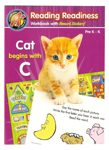 Reading Readiness: Cat begins with C: A+ Let's Grow