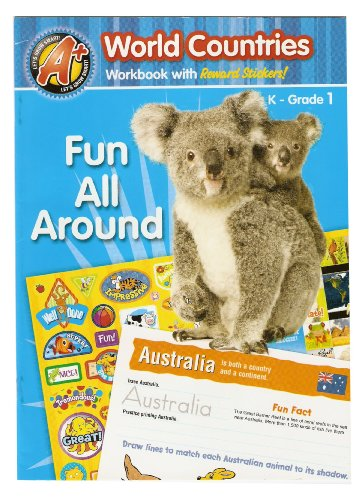 Let's Grow Smart! (World Countries Workbook with Reward Stickers!, K - Grade 1)