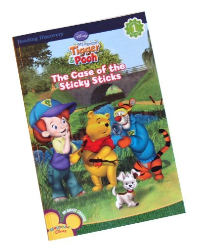 9781403795410: The Case of the Sticky Sticks (Disney My Friends Tigger & Pooh, Reading Level 1)
