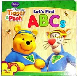 9781403795731: Let's Find ABC's (My Friends Tigger & Pooh)