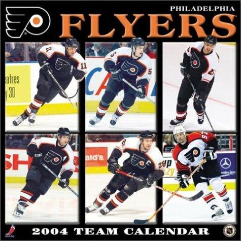 9781403802798: Philadelphia Flyers 2004 16-month wall calendar