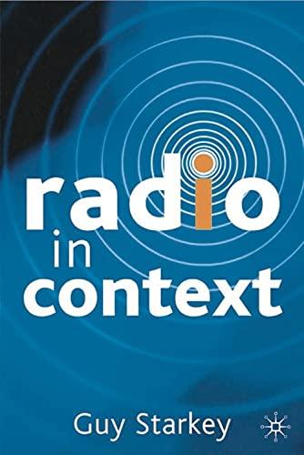 Radio in Context: Guy Starkey