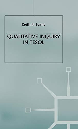 9781403901347: Qualitative Inquiry in Tesol