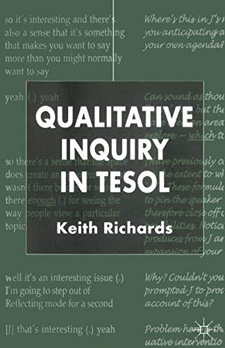 9781403901354: Qualitative Inquiry in TESOL