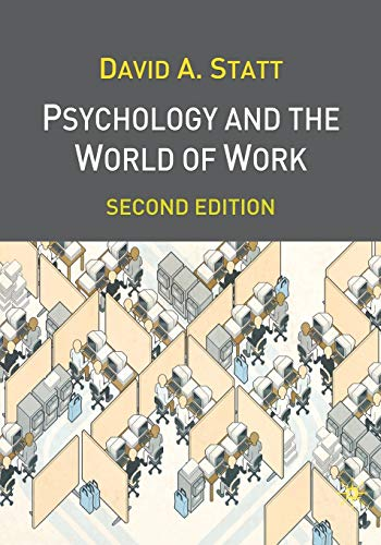 9781403901552: Psychology and the World of Work: Second Edition