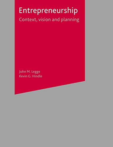 9781403901606: Entrepreneurship: Context, Vision and Planning