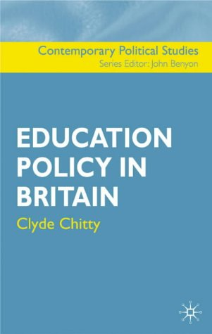 9781403902221: Education Policy in Britain (Contemporary Political Studies)