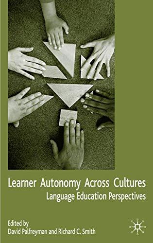 9781403903549: Learner Autonomy Across Cultures: Language Education Perspectives
