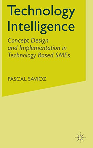 9781403905833: Technology Intelligence: Concept Design and Implementation in Technology Based Sme's