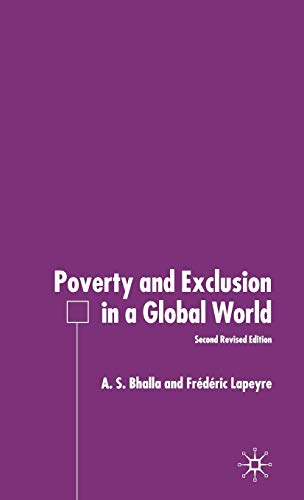 Poverty and Exclusion in a Global World: Bhalla, A., Lapeyre,