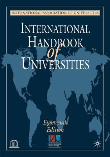 9781403906885: International Handbook of Universities, 18th edition
