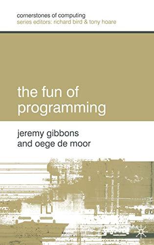 9781403907721: The Fun of Programming (Cornerstones of Computing)