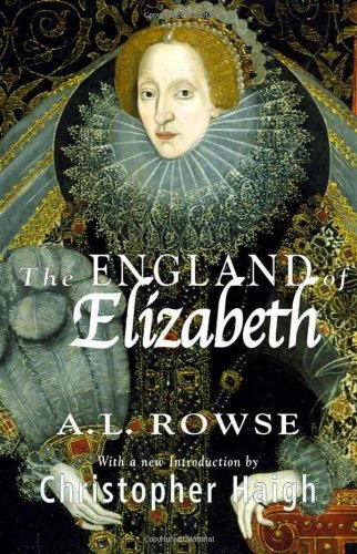 9781403908124: The England of Elizabeth: The Structure of Society