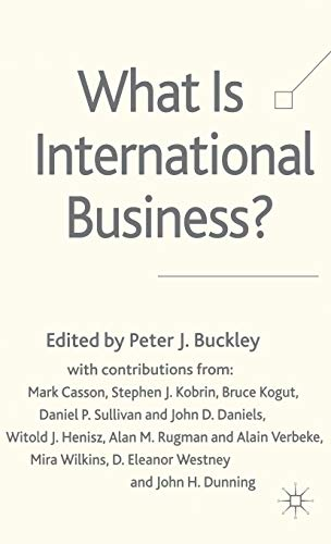 9781403911247: What is International Business?