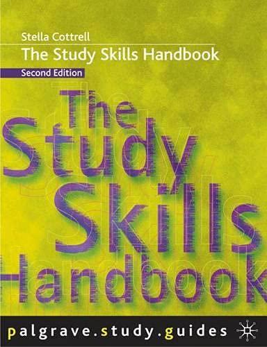 9781403911353: The Study Skills Handbook (Palgrave Study Guides)