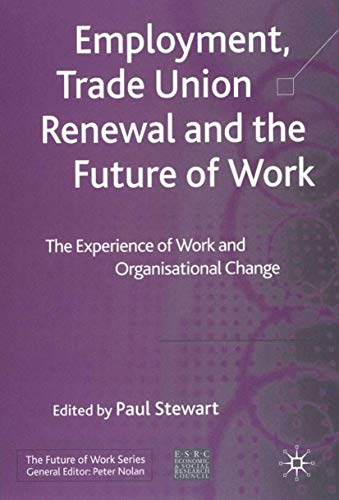 the future of trade unions The future of trade unionism and the next generation on the face of it you might think that the future is full of potential for trade unions four in five people in great britain think that trade unions are essential to protect workers' interests.