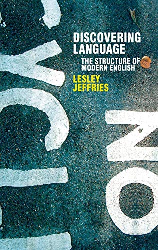 9781403912619: Discovering Language: The Structure of Modern English (Perspectives on the English Language)