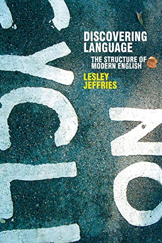 9781403912626: Discovering Language: The Structure of Modern English (Perspectives on the English Language)