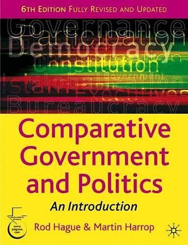 9781403913142: Comparative Government and Politics